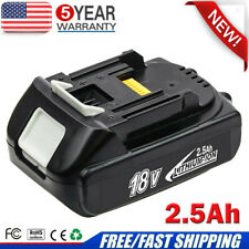 For Makita 2.5Ah 18V LXT Lithium-Ion Battery BL1815 BL1820 BL1830 Cordless Drill