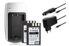 2xBaterìa+Cargador EN-EL9 para Nikon D40, D40x, D60, D3000, D5000
