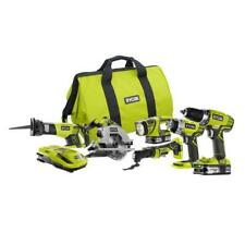 Ryobi P884 6 Piece 18v One+ Combo Kit Refurbished