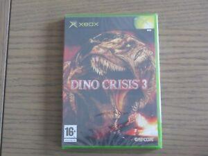 JEU XBOX DINO CRISIS 3 NEUF BLISTER NEW EN FRANCAIS
