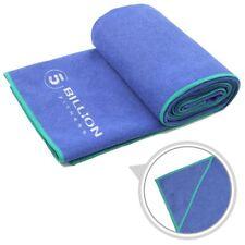 Procircle Microfiber Hot Yoga Towel With 4 Corner Pockets - Absorbent Non Slip