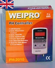 Weipro PH2010 PH2010A Controlador de valor Medidor de pH con Sonda Acuario Marino Fresco