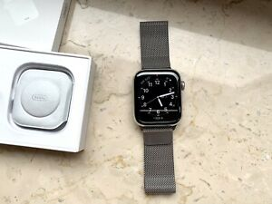 Apple Watch Series 6, 44 mm cellular, Stainless Steel