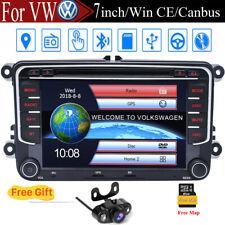 For VW B6 MK5 MK6 Golf Passat Jetta 2 DIN Car Radio DVD Player GPS Stereo BT Nav
