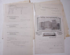 1918 Lamson Goodnow Congdon Carpenter Co Providence RI Pull Out Ephemera L793F