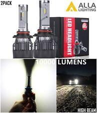 Alla Lighting 72W 9005 LED High Beam Headlight Bulb Lamp for Chevy, White 6000K