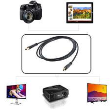 PwrON 5ft Mini HDMI Audio Video TV Cable for Canon Vixia HF-S21 HF10 HF11 HF-M50