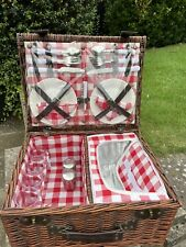 More details for picnic basket and set for 4 people
