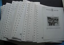 Kabe Album sheets 16-Ring System 6,5kg Pre-printed album pages