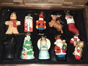 Christmas Ceramic Christmas Tree Ornaments For Sale Ebay