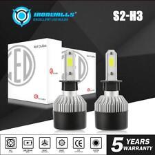 H3 LED Fog Light Conversion Kit for Mercedes Benz C230 C280 ML320 ML430 ML55 AMG