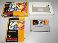 Pac-Attack For Super Nintendo Boxed With Manual In Good Used Condition