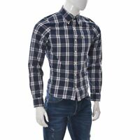 Abercrombie & Fitch Men's One Pocket Muscle Fit Shirt Button Down Long Sleeve M