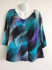 Millers 3/4 Sleeve V-Neckline Tops & Blouses for Women