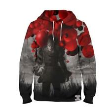 Men's Clothing 2019 Latest Design New Movie It Pennywise Clown Stephen King 3d Print Hoodies Horror Movie Hoody Sweatshirt Cosplay Tracksuit Sportswear Choice Materials