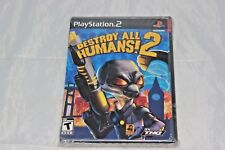 Destroy All Humans! 2 PS2 Brand New Factory Sealed