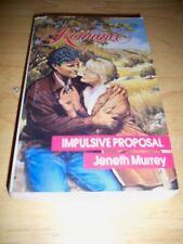 Impulsive Proposal No. 3039 by Jeneth Murrey (1990, Paperback)