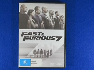 Fast And Furious 7 - DVD - Free Postage !!
