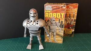 Dr Who Denys Fisher Giant Robot and original box vintage classic 1970's