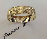 14K SOLID GOLD MEN'S/WOMEN'S WEDDING/ANNIVERSARY RING BANDSZ6-13 FREE ENGRAVING