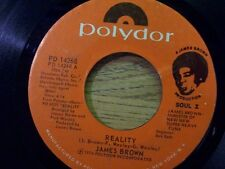 "JAMES BROWN 45 RPM ""Reality"" & ""I Need Your Love Badly"" VG condition"