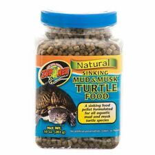 LM Zoo Med Natural Sinking Mud & Musk Turtle Food 10 oz