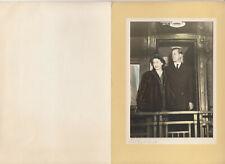 NEW WESTMINSTER , B.C., 1951; Photo of Princess Elizabeth on a Christmas card