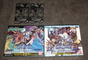 Digimon Card Game Series 01 Special Booster Box Ver 1.0 & 1.5 Factory Sealed