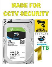 1 TB Hard Drive 7200 Rpm For CCTV Security Camera DVR NVR Seagate SkyHawk