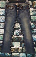"TRUE RELIGION Section Becky Sz 24 x 30"" Inseam Denim Women's Jeans    #B3-04"