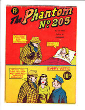 The Phantom No 205 1960's? New Zealand Man In Bed Cover!