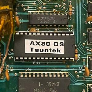 AKAI AX80 TAUNTEK OS 1.2 ON A BRAND NEW ROM EPROM FIRMWARE UPGRADE CHIP 1.20