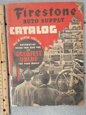 1937-38 Firestone Store Catalog Fleetwood Bicycle Sled Tire Battery Dover DE