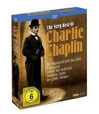 Blu-ray Box * The Very Best of Charlie Chaplin * NEU OVP u.a. Der große Diktator