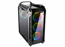 Cougar Panzer-evo Full Tower Tempered Glasses & 4 X Vortex RGB LED Fans