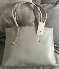 Bnwt Radley Arlington court large pond blue leather tote bag new