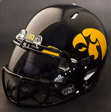 "*CUSTOM* IOWA HAWKEYES ""ANF"" Riddell SPEED Full Size Replica Football Helmet"