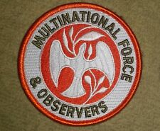 MFO MULTINATIONAL FORCE & OBSERVERS DEPLOYMENT PATCH - AUSTRALIAN ARMY NEW