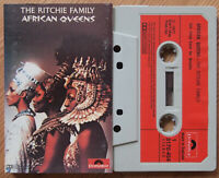 THE RITCHIE FAMILY - AFRICAN QUEENS (POLYDOR 3170454) 1977 UK CASSETTE TAPE VG+