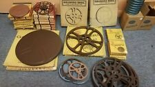 Large assortment of Goldberg 16mm film reels and cans