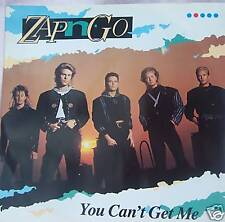 """ZAP N GO - You Cant Get Me - 12"""" Single PS"""