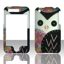 White Owl Apple Iphone 3GS, 3G Case Cover Hard Protector Phone Case