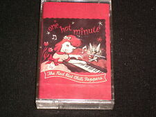 RED HOT CHILI<>ONE HOT MINUTE<>Sealed Audio Cassette ~Made in Canada