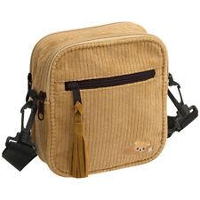 Rilakkuma mini Shoulder Bag Corduroy Camel San-X Japan