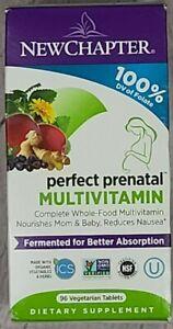 New Chapter Organics, Perfect Prenatal, Wholefood Multivitamin 96 TABLETS