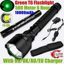 GREEN LIGHT SMALL SUN 2000 Lumen CREE XM-L T6 LED TACTICAL FLASHLIGHT TORCH LAMP