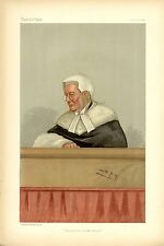BARRISTER JUDGE OF THE QUEEN'S BENCH BENEVOLENCE ON THE BENCH BLACK ROBED JUDGE
