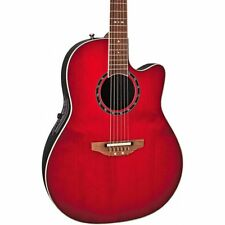 NEW Ovation Standard Balladeer 2771AX-CCB Acoustic-Electric Guitar Solid AA Top