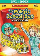 The Magic School Bus + Book: HUMAN BODY, New DVDs