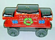 Thomas The Train Wooden SODOR LINE CABOOSE - HOLIDAY  2003